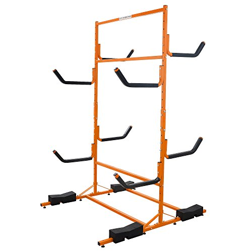 1233 RAD Sportz Tall Stand Freestanding Heavy Duty Kayak Rack Two Kayak Storage