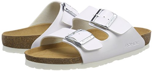 Femme Alba 00 White Rohde white Mules PxZq1CwnU