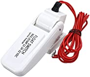 Generic Automatic Boat Bilge Pump Float Switch 12/24/32V DC Level Controller Floating White