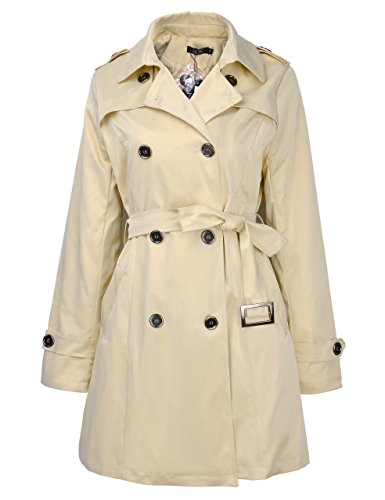 Brown Belted Trench - 1