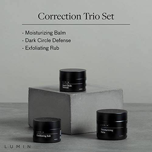 Correction Trio Collection for Men: 3 Piece Kit to Help with Tired Eyes, Dark Spots, Uneven, and Dull Skin - Includes… 2