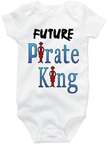 - Future Pirate King Luffy One Piece Cute Onesie Funny Baby Bodysuit (3 months)