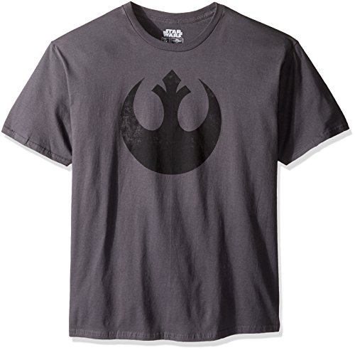 Alliance Emblem Symbol Graphic Logo T-shirt, Charcoal Gray, 2XL ()