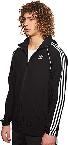 Small Windbreaker Black Adidas Men's Superstar Originals nC6fq7H