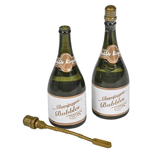 Champagne Bottle Shaped Blowing Bubbles 2 Dozen -