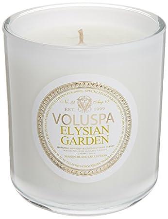 Amazoncom Voluspa Elysian Garden Classic Maison Candle 100 Hour