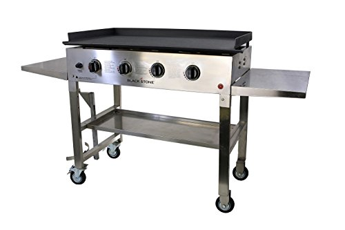 Outdoor Gas Griddle Blackstone ~ Blackstone inch stainless steel outdoor cooking gas