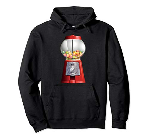 Gumball Machine Halloween Costume Candy Vending Pullover Hoodie
