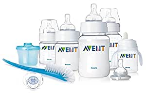 Philips AVENT BPA Free Classic Infant Starter Gift Set (Discontinued by Manufacturer)
