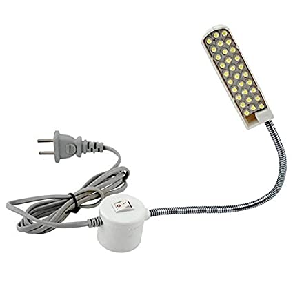 Lámpara super brillante de 30 granos de la lámpara Máquina de coser de ropa Luz de