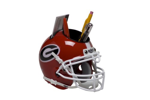 NCAA Georgia Bulldogs Helmet Desk Caddy (Bulldog Helmet)