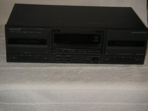 Kenwood Cassette - KENWOOD Styereo Double Cassette Deck, Model KX-W894