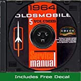 1964 Oldsmobile Repair Shop Service Manual CD (With Decal)