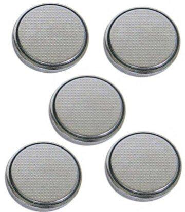 Dexon Power CR2032 High Power Lithium Button Cell (5 batteries/pkg) Batteries