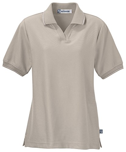 Extreme Ladies Mini Ottoman Polo Shirt, DESERT SAND 786, XX-Large