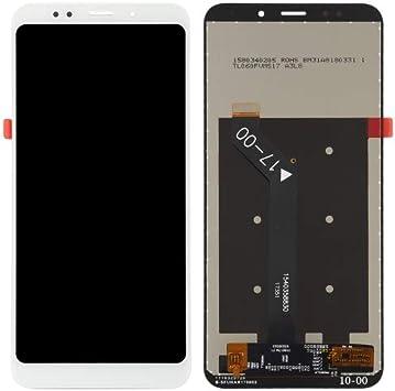 alsatek Repuesto Pantalla Completa para Xiaomi Redmi 5 Plus, Color Blanco: Amazon.es: Electrónica