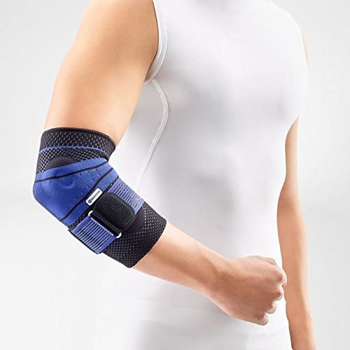 B003AXEBCW Bauerfeind - EpiTrain - Elbow Support - Breathable Knit Elbow Brace Targeted Compression for Chronic Elbow Pain, Supports Forearm Tendons & Muscles, Golfer's or Tennis Elbow Relief 41o12P%2BSc2L