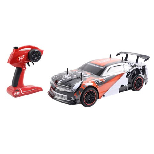 Goplus 1/10 Scale 2.4G 4CH Super High Speed Racing RC Remote Control Car Gift by Unbranded*