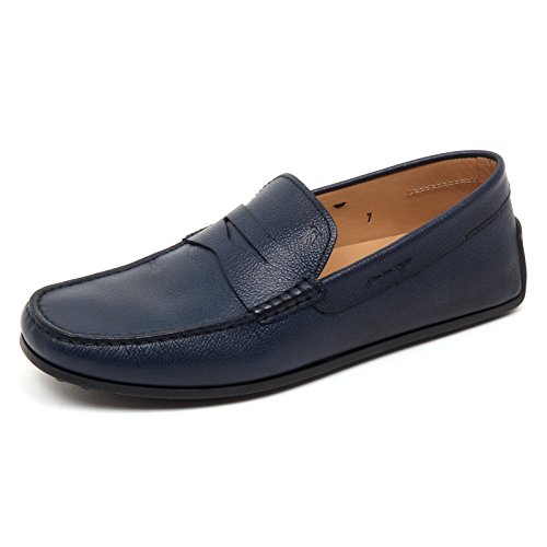Tod's Shoe Mocassino Man D2480 Scarpa Blu Uomo Loafer vT7q6E