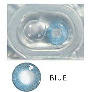 Aelove Material New Beauty Pupil Women Multicolor Cute Charm and Attractive Contact Lenses (Only One Piece)