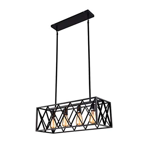 Rectangle Pendant Light Fixtures in US - 1