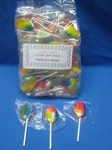 Primrose Rainbow Lollipops 2 Pound Bag 80 PCS