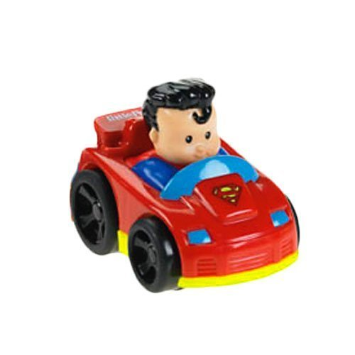 Fisher Price Little People DC Super Friends Wheelies Superman by Fisher-Price (Fisher Price Little People Marvel)