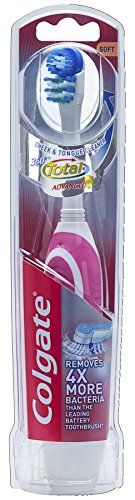 Colgate 360 Battery Toothbrush, Soft,( Pack of 1)