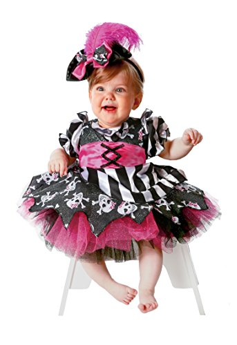 Princess Paradise Baby Abigail The Pirate, Multi, 18 to 24 (Toddler Pirate Princess Costume)