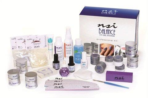 NSI Balance UV Gel Professional Kit (Enamel Platinum Overlay)