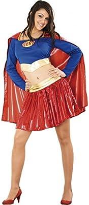 Juguetes Fantasia - Disfraz super heroina adulto: Amazon.es ...