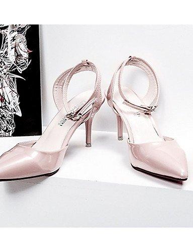 GGX us8 Weiß cn39 Heels eu39 silver Rosa Silber PU Lässig Damenschuhe Grau uk6 Absätze Gold Stöckelabsatz High SqrxSO
