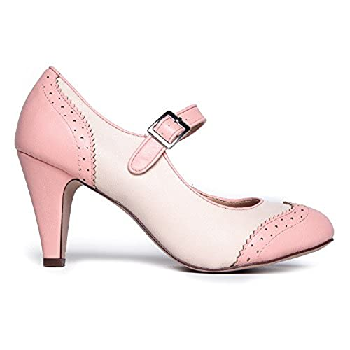 Round Toe Kitten Heel – J Adams
