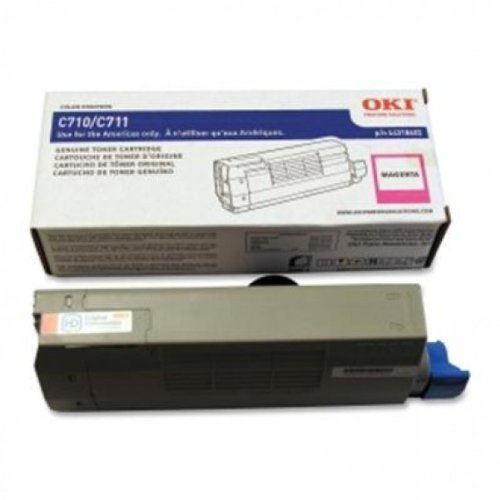 Okidata - C711 Series Magenta Toner (C711n Led Printer)