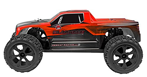 Redcat Racing Blackout XTE 1/10 Scale Electric Monster Truck with Waterproof Electronics, Red by Redcat Racing (Image #12)