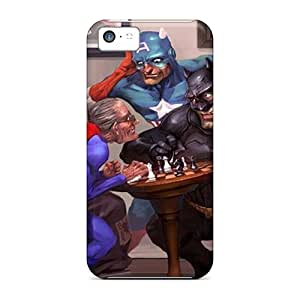 Ideal 88caseme Cases Covers For Iphone 5c(old Heroes), Protective Stylish Cases