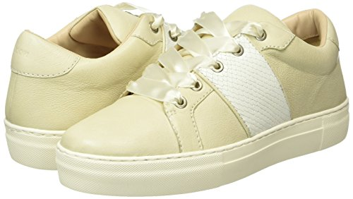 100 Ii Damen Sneakers Grain Leather Daphne Weiß Joop Sneaker zTgnf8Tq