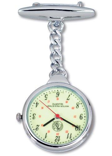 Prestige Medical Nurse Lapel Glow - Lapel Chain Watch