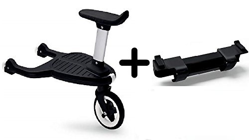Bugaboo Comfort Wheeled Board with Seat + Bugaboo Comfort Wheeled Board Adapter - Donkey / Buffalo