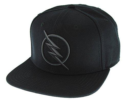 DC Comics Black Flash - Zoom Licensed Embroidered Logo Snapback Cap Hat