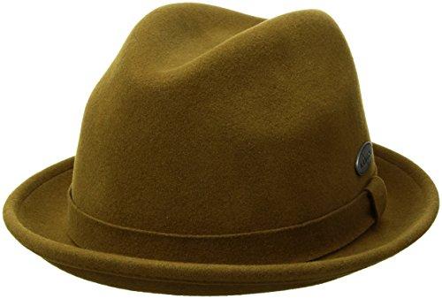 Kangol Men's Lite Felt Player Hat, Bronze, L (Player Wool)