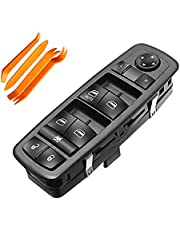 Driver Side Master Power Window Switch with Removal Tools Replacement for Dodge Nitro 2008-2012 Dodge Journey 2009-2010 Jeep Liberty 2008-2012 Replace 4602632AH 4602632AF 4602632AG