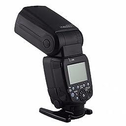 YONGNUO YN600EX-RT-II Wireless Flash Speedlite TTL Master for Canon DSLR 70D 60D 50D 40D 30D w/ EACHSHOT Diffuser
