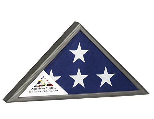Veteran-Flag-Case-American-Made-for-American-Hereos-Gun-Metal-Finish-for-5x95-Burial-Veteran-Flag