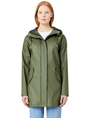 MERAKI Green Hood Raincoat Women's Khaki r7Onq41rw