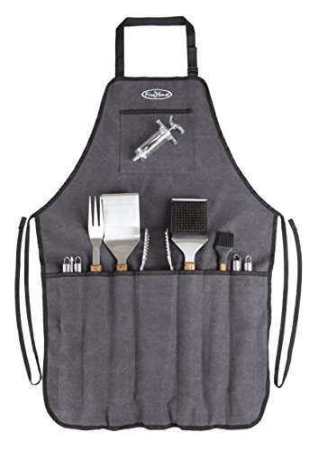 Fire Sense 61932 Elite Stainless Steel BBQ Tool Set ()