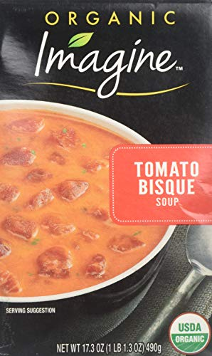 - Imagine Organic Tomato Bisque, 17.3 OZ