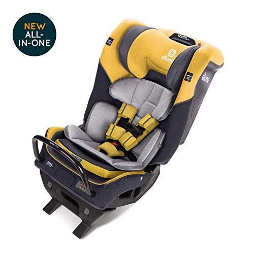 Diono Radian 3QXT Latch, All-in-One Convertible Car Seat, Yellow Mineral