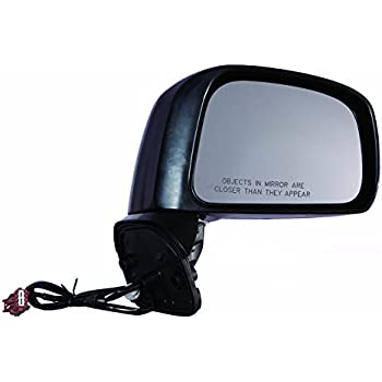 S//Sl//Hatch Back Power Side Mirror Driver Side Replacement Gold Shrine for 2007 2008 2009 2010 2011 2012 Nissan Versa Sedan Type 2