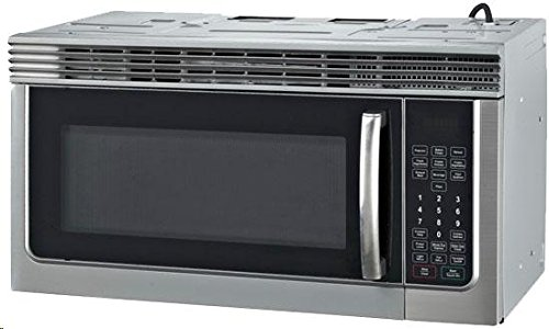 RCA 1.6 Cubic Foot Over The Range Microwave, Stainless Steel